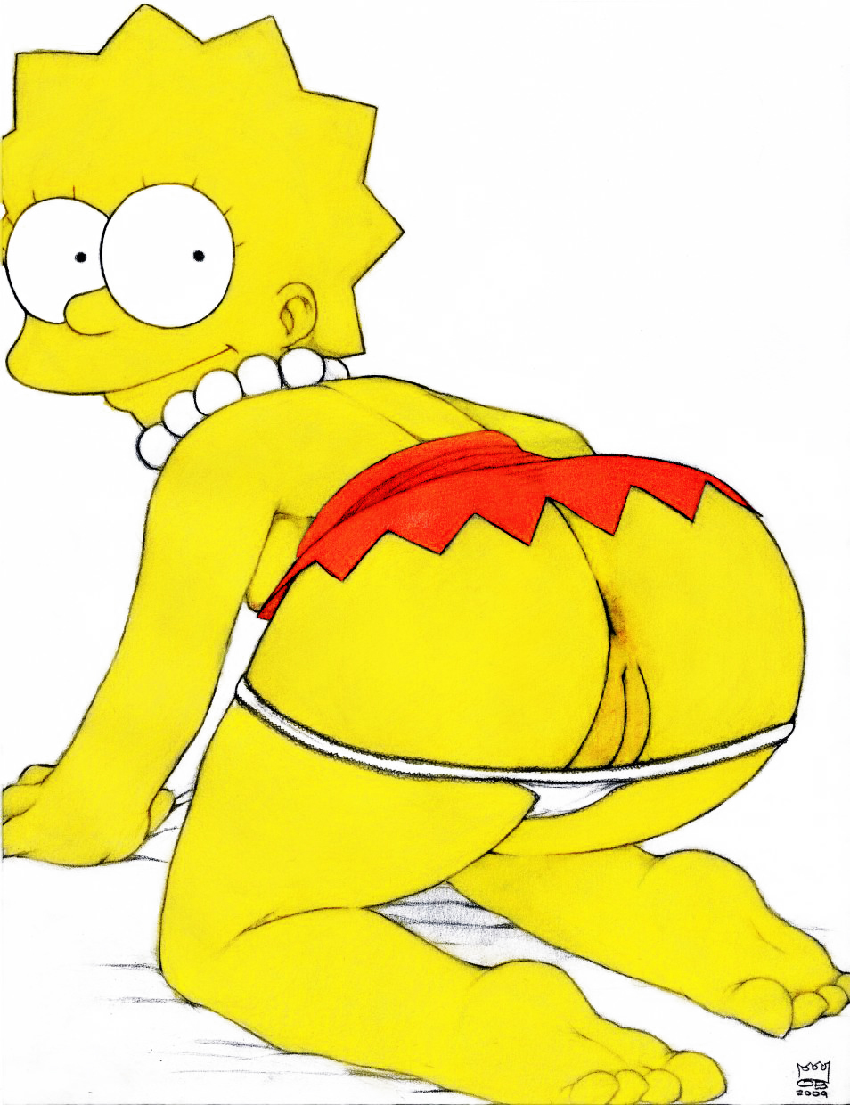 cartoon lisa simpson bart fuck