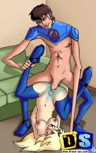 fantastic four cartoon sex